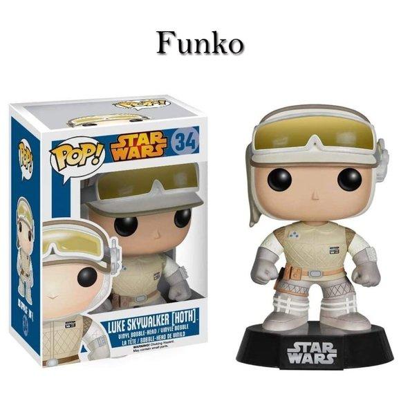 Funko Star Wars Luke Skywalker Hoth 34 NEW